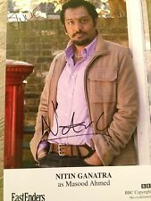 6x4 Hand Signed Photo of Eastenders Masood Ahmed - Nitin Ganatra