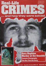 Real-Life Crimes Issue 59 - Gary Hopkins Murder at the seaside, D.B. Cooper