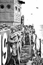 WW2 - Normandie 1944 - Les Gi's approchent d'Utah Beach