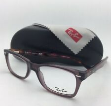 New RAY-BAN Eyeglasses HIGHSTREET RB 5228 5628 50-17 Opal Brown w/Multi-Tortoise