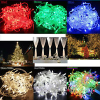 8 Modes 10M/20M 100/200 LED Christmas Party Wedding Tree Fairy String Light G2