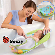 Free Shipping SOZZY Collapsible Baby Bath Bed Tub Chair Towels Safe Comfortable
