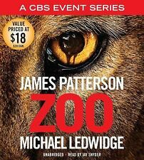 New Audio Book James Patterson Zoo Unabridged on 7 CDs Great Story