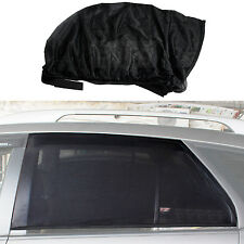 2pcs Window Sox Sun Shades Sock Black Mesh Baby Protection Size L For Honda