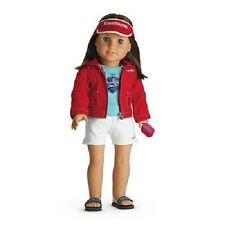 American Girl Chrissa's Warm Up Set-For Doll NIB-Retired-Isabelle Ivy Saige Kit