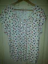 ANTHOLOGY BUTTERFLY TOP SIZE 20/22