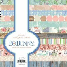 "New Bo Bunny Paper Pad 6"" x 6""  Butterfly Kisses"