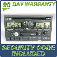 HONDA Odyssey Radio Tape Cassette CD Player for Rear Entertainment DVD Controls