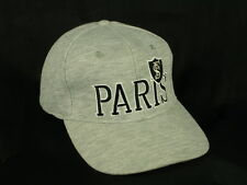 SF Paris Rugby Stade Français Paris Gray Baseball Cap Hat NWOT Box Shipped