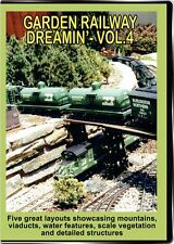 Garden Railway Dreamin Vol 4 DVD NEW Outdoor - Visit 4 layouts in this volume
