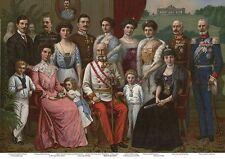 Kaiserfamilie Sissi Franz Josef Österreich K&K 4 Monarchie Büttenfaksimile
