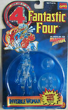 Fantastic Four  Invisible Woman Action Figure W/ Invisible Force Shield - 1995