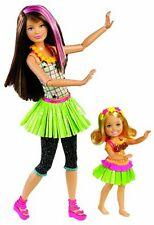 Barbie Sisters Hula Dance Skipper and Chelsea Doll 2-Pack