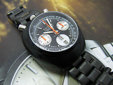 RARE CITIZEN BULLHEAD CHRONOGRAPH AUTOMATIC MINT BLACK DIAL MODIFY MOD  LAST ONE