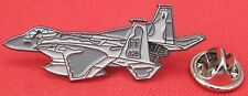 F15 Fighter Aeroplane Aircraft Pilot Lapel Pin Badge F-15 Eagle Military Plane
