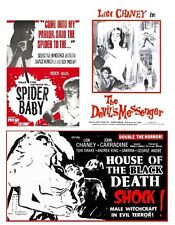 SPIDER BABY,HOUSE OF BLACK DEATH(BLOOD OF THE MAN DEVIL),DEVIL'S MESSENGER
