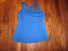LULULEMON CORE KICKER TANK IN ROYAL BLUE SIZE 10 WITH CUPS