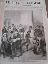 N°934 de 1875 Monde Illustré chronique Musicale Offenbach Geneviève de Brabant
