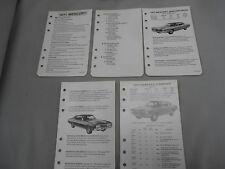 Vintage 1971 Mercury Cyclone/ Cougar/Montego/Marquis/Monterey/Comet LITERATURE