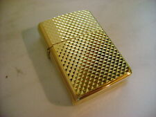 ZIPPO ACCENDINO LIGHTER SERIE PRESTIGE FIFTH AVENUE 557  BRASS  NUOVO