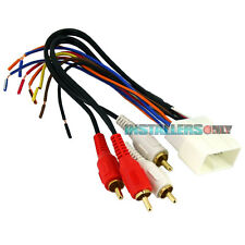 AFTERMARKET CAR STEREO/RADIO WIRING HARNESS, LEXUS 8112 WIRE ADAPTER/PLUG