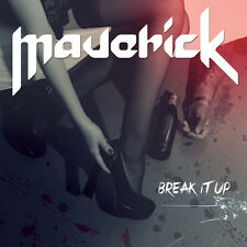 MAVERICK-BREAK IT UP-EP CD spanish heavy metal-ADGAR-WARCRY-BARON-SANGRE AZUL