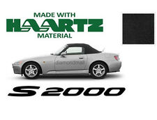 Honda S2000 Convertible Soft Top Replacement With Plastic Window 2000-2001