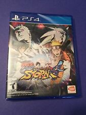 Naruto Shippuden Ultimate Ninja Storm 4 for PS4  NEW