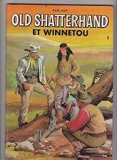 Karl MAY. Old Shatterhand et Winnetou. Tomes 1 et 2. Dessins Juan ARRANZ. 1967.
