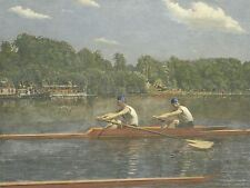 THOMAS EAKINS AMERICAN BIGLIN BROTHERS RACING OLD ART PAINTING POSTER BB6417A