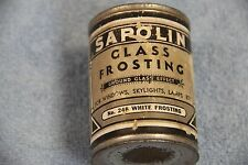 Vintage Sapolin Glass Frosting Tin Ground Glass Effect No. 246