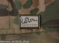 Join or Die Flag Lapel, Vest, Hat Pin
