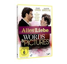 WORDS AND PICTURES (ALLES LIEBE)  DVD NEU