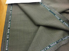 Super 120 wool and Kid Mohair Dog Tooth Suiting, jacket fabric Ref:10207 3.5m