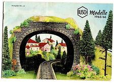 Busch Modellbau Katalog 1965 / 1966, Modell-Eisenbahn