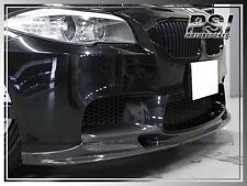 3D Style Carbon Fiber Front Bumper Add On Lip for 2012-2016  BMW F10 M5 Only