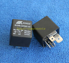 5pcs ORIGINAL & Brand New SLDH-12VDC-1C NO:80A NC:60A 14VDC SONGLE Relay