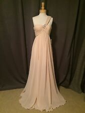 It's My Party! Barcelona by Pronovias: Salm VD+Chal Gasa Dress Sz 8: Orig $599