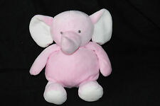 Carters Pink Elephant Stuffed Plush 2014 Rattle Doll Baby Toy 61036 Target 10""