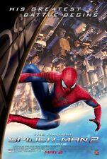 AMAZING SPIDER-MAN 2 MOVIE POSTER 2 Sided ORIGINAL 27x40 ANDREW GARFIELD