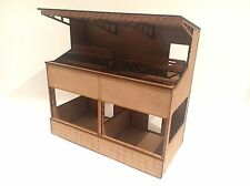 1/32 Scale Two Tier Pit / Spectator Building Scalextric Or Magnetic Racing