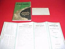 1961 DODGE R D 100 200 300 TRUCK ORIGINAL OWNERS MANUAL SERVICE GUIDE 3 BOOKS 61