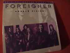 """MFSL 1-052 FOREIGNER """"DOUBLE VISION"""" (FIRST-JAPANPRESSING-SERIES/FACTORY SEALED)"""