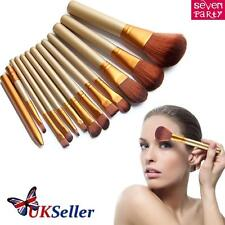12pcs Kabuki Professional Make up Brushes Makeup Set Foundation Blusher Powder