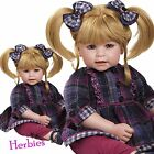 Adora Mad About Plaid Charisma Dolls, Vinyl and Cloth Baby Doll, New In Box