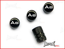 AUDI A6 - Set Of 4 Lasered Logo Aluminium Tire Valve Caps
