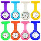 Classy Fashion Silicone Nurse Watch Brooch Fob Pocket Tunic Movement Watch
