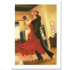 "Carrie Graber  ""Flair"" LIMITED EDITION Giclee on Canvas S/N COA List Price:$1200"