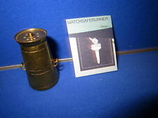 C.1890 NOVELTY BRASS MILK CHURN MATCH HOLDER VESTA CASE MATCH SAFE STRIKER