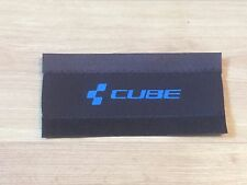 CUBE BLUE NEOPRENE BICYCLE / CYCLE  / BIKE CHAIN STAY FRAME GUARD PROTECTOR